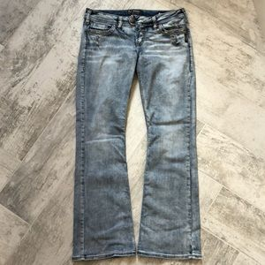 Silver Super Stretch Tuesday Jeans